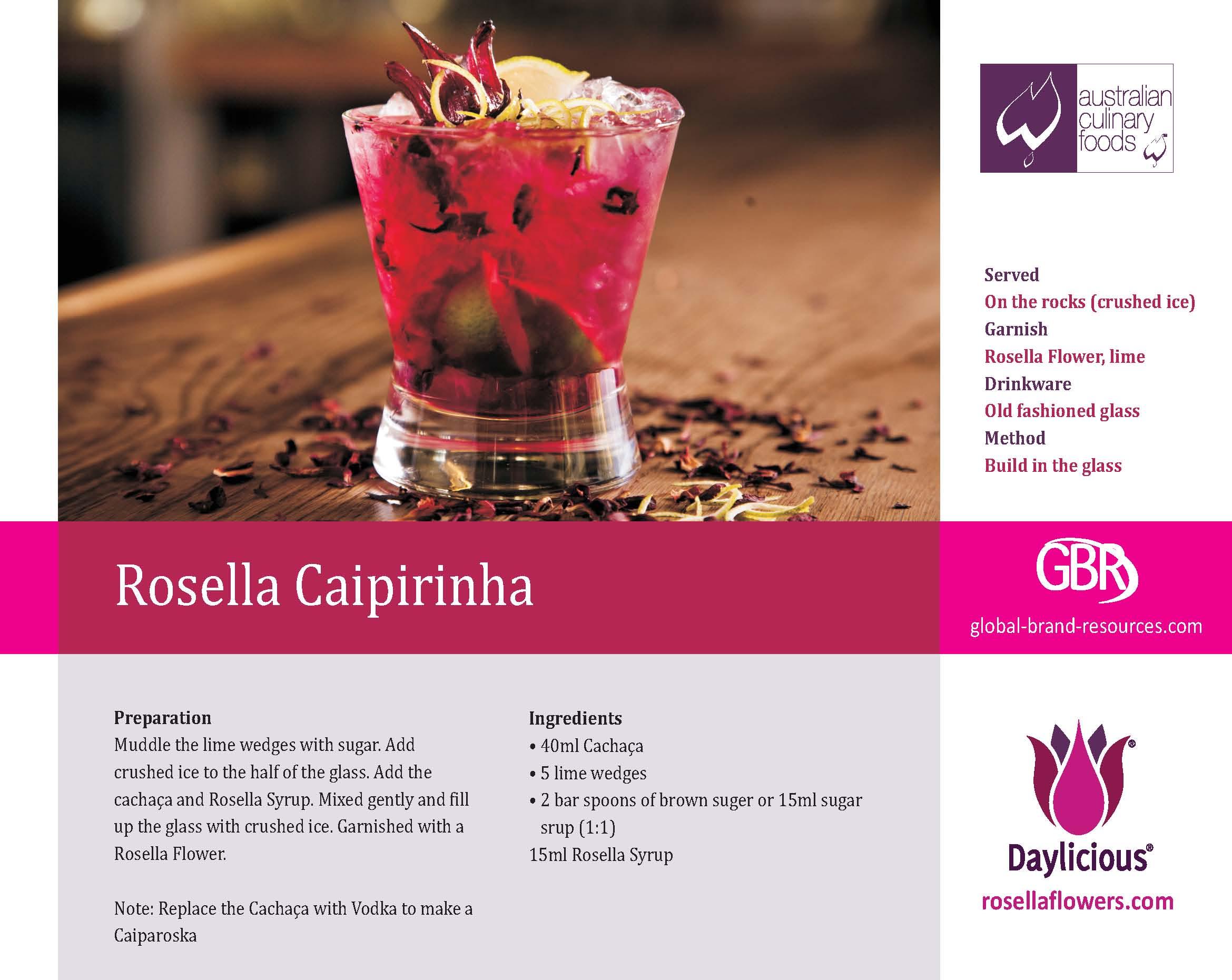 Rosella Caipirinha
