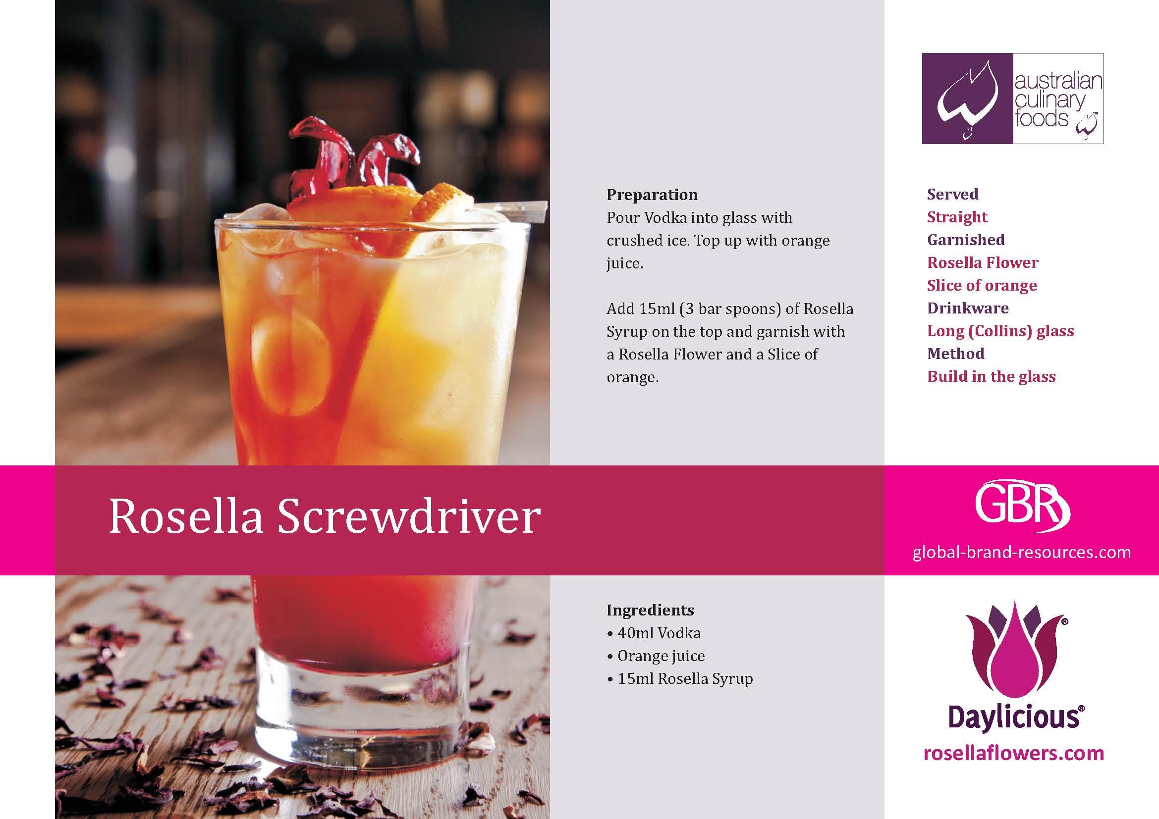 Rosella Screwdriver